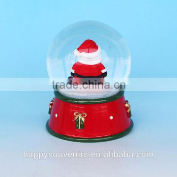 2017 Custom Glass Chrismas Snow Globe With Manufacture