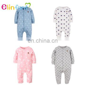 2017 Hot Sale baby clothes organic cotton baby romper