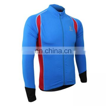 winter jacket 60026 Male Biking Jersey Long Sleeve Sportswear Outdoor Cycling Running Clothes jackets men 2017