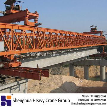 China HSHCL 300 ton railway highway beam launcher construction machine