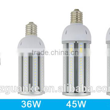 E39 45W corn bulb energy of solar and wind led street light 175w metal halide replacement