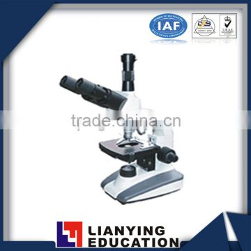 Lab 1600X trinocular microscope for education equipment