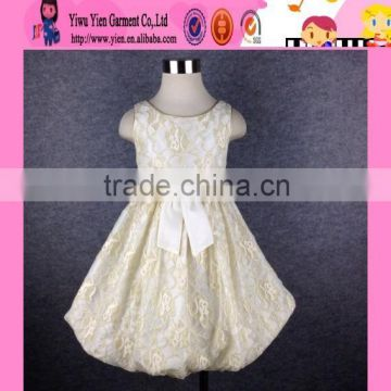2015 Boutique Store Hot Sale Princess Party Dress Wholesale Price Handmade Birthday Dress For Kids Girl