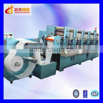CH-320 New condition roll to roll paper printing machines 4 colour