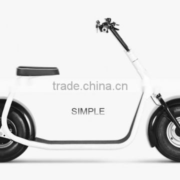 2016 NEW battery power electric scooter