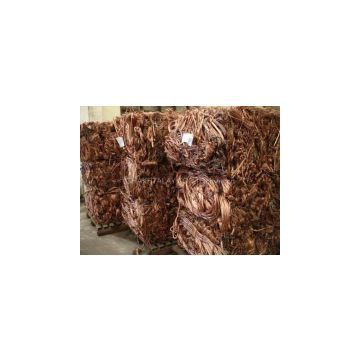 99.99% Purity Copper Wire Scrap