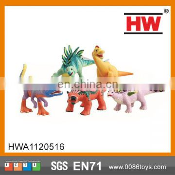 Eco-Friendly Giant Plastic Toy Evade Glue Dinosaur Toy
