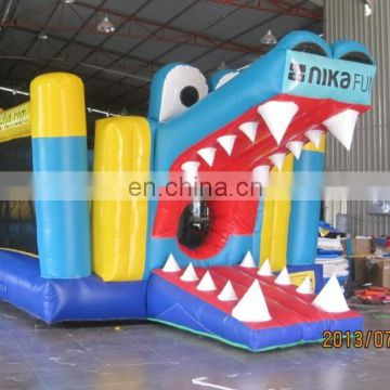 Empire inflatable crocodile jumping castle NB030
