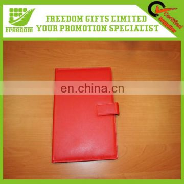 Promotional Logo Printed Leather Cover Notebooks