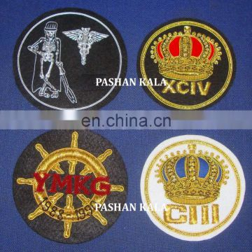 Hand Embroidery Emblems Patches