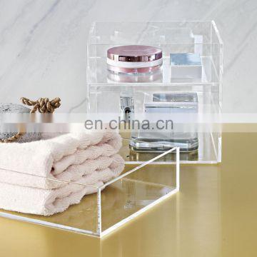 home furniture acrylic bathroom organizer bath tub organizer bath room accessories