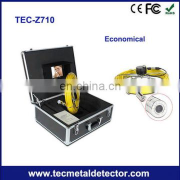 23mm camera pipe &wall inspection camera with surveillance functions TEC-Z710 chimney inspection camera
