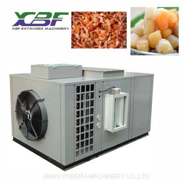 2019 Popular Stainless Stell No-Pollution Air Source Heat Pump Dryer For  Sea Food