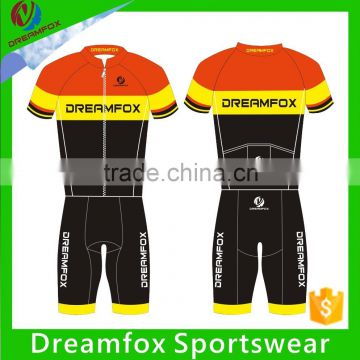 breathable short sleeve bicycle jersey/Quick Dry bicicleta bike clothing/cycling bib shorts