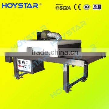 t-shirt screen printing infrared dryer machine with conveyor belt