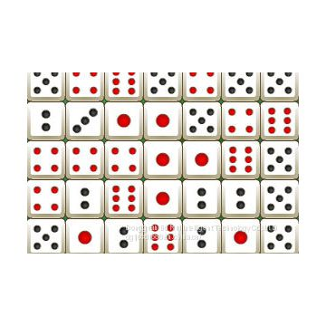 Mahjong, dice, flag, chess, chess double vision system  lacquer machine