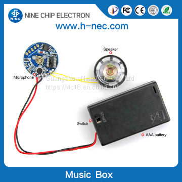 Audio sound module pre-record voice box for toy of MP3 play and
