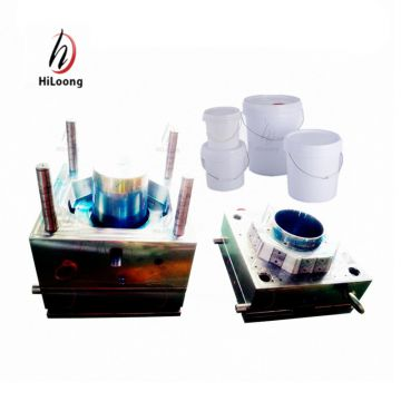 quality plastic injection paint bucket mold taizhou supplier