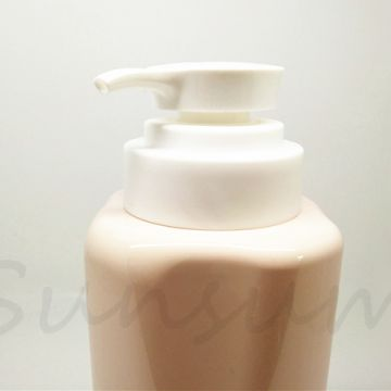 Flower Shape 540ml Lotion Pump Shower Gel Color Shampoo Bottle