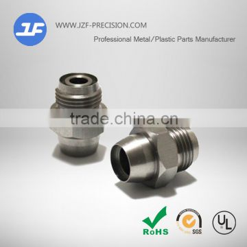 Customized cnc machining parts and cnc machining part of car mechanical part for Aluminum Connector
