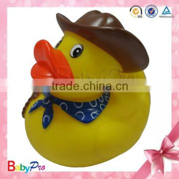 new products on China market quality products baby goods for baby shower floating bath toy yellow plastic duck