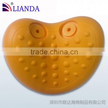 factory direct sell bath pillow/ bathtub bathroom H.Nos pillow/ bathroom pillow made in China eco-friendly