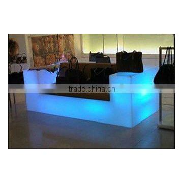 Luminous Bar Furniture 2 Seater Sofa LED Plastic Waterproof Illuminated  Sofa For Nightclub / Otobi Furniture ...