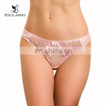 Fashion Wholesale Brown Color Women Sexy Panty Underwear