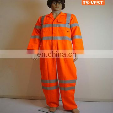 Wholesale Reflective Workwear Coverall Suit
