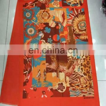 2015 Fashion Red Exlarge Square Wool Winter Shawl