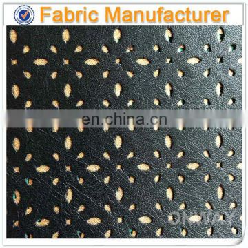 PU microfiber leather for car seat