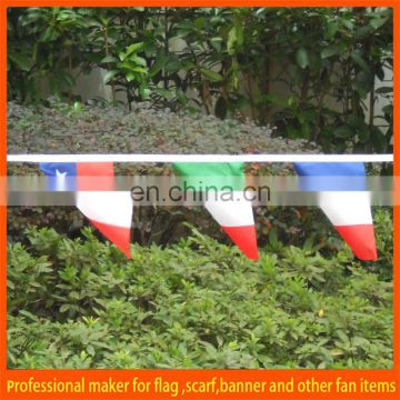 cheap PVC string bunting pennant flag