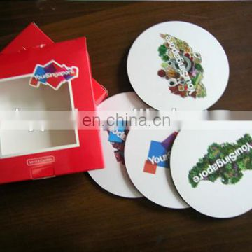 Promotional EVA Coaster set with box