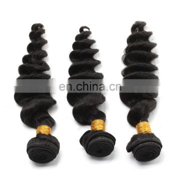 virgin indian hair loose wave wholesale hair bundle hair