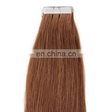 Wholesale 9A indian Remy skin weft Tape Hair Extensions Double Drawn Tape In Hair Extensions Virgin Human Tape Hair extension