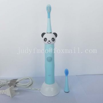 Rechargeable Inductive Charging High Frequency Panda Gift Pack Sonic Electric Toothbrush For Kids Baby
