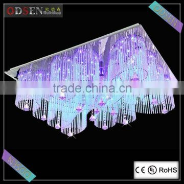 Modern 2015 new fancy led zhongshan with MP3 crystal ceiling lamp                                                                         Quality Choice