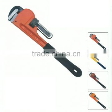 "12"" America type PVC dipped handle pipe wrench"