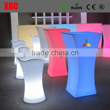 cocktail table roto lighting led illuminated furniture GF312