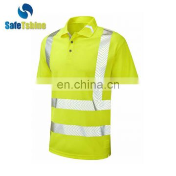 Wholesale new style high visibility good safety custom safety shirt