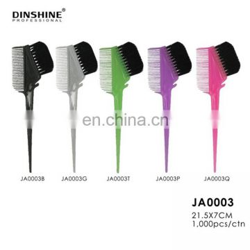 2017 wholesale Hair Dyeing Color Bowl Kit tint brush with comb