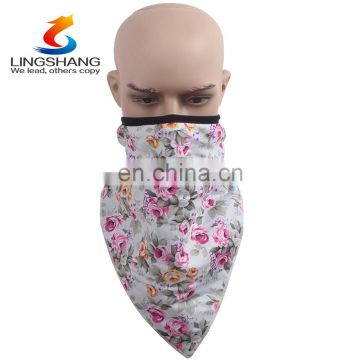 The new crystal cashmere scarf baby napkin with snap triangle slobber children bib bandana