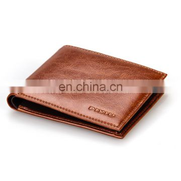 Handmade Genuine Leather Wallet for Men Good Human Wallet Leather Case