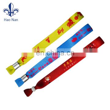 cheap promotion customized printing wristband for gift