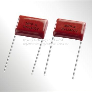 MPP-A Metallized polypropylene film A.C. capacitor for capacitive divider