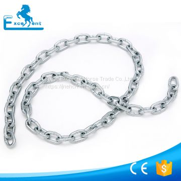 Zinc Galvanized Metal Welded Short Link Chain for lifting