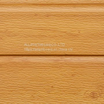 Wood texure  pu foam sandwich panels