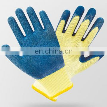 13G nitrile coated Nylon glove with PVC dots