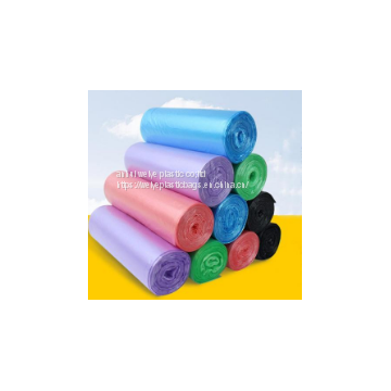 Custom PE plastic garbage bag with high quality