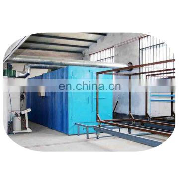 Newest design Powder coating line_Amachine